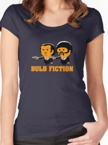Bulb Fiction Women's Fitted Scoop T-Shirt