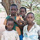 Kalacha boys by David Clarke