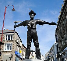 New Tin Miner Monument Redruth Cornwall by DonDavisUK