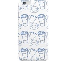Coffee Cups iPhone Case/Skin