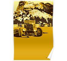 32 Roadster at Mt. Rushmore Poster