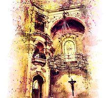 Saint Nicholas Church, Prague  by JBJart