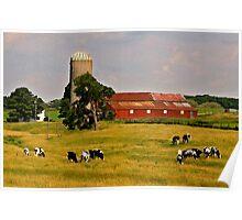 Oxford Farm Poster