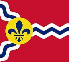 Flag of St. Louis  by abbeyz71
