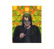 Mitch Hedberg Art Print