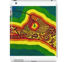 light as a feather iPad Case/Skin
