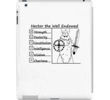 Hector the Well Endowed iPad Case/Skin