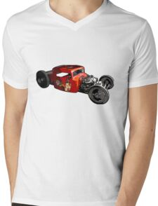 Rat rod  Mens V-Neck T-Shirt