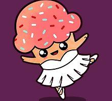 Cupcake Ballerina by Bohsky