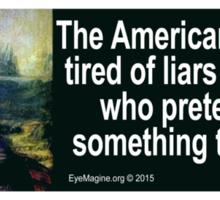 Hillary Clinton Quotation Sticker