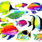 TROPICAL FISH by Jane  Kempe