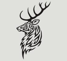 Tribal Stag by Hareguizer