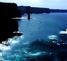 Cliffs of Moher  by aidan  moran