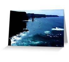 Cliffs of Moher  Greeting Card