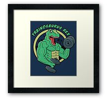Trainosaurus Rex Framed Print