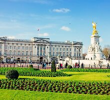 Buckingham Palace Sunny Day by PatiDesigns