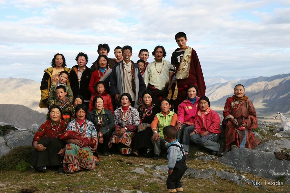 Family Portrait - Deprung Monastery by Niki Taxidis
