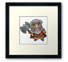 a Dwarf Framed Print