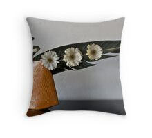 Ikebana-100 Throw Pillow