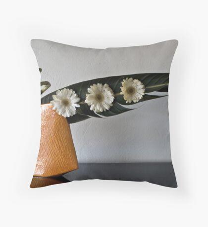 Ikebana-100 Throw Pillow