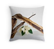 Ikebana-107 Throw Pillow