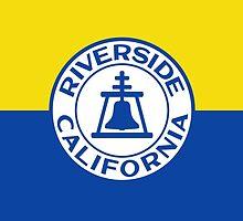 Flag of Riverside, California  by abbeyz71