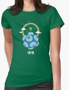 Lonely Rolling Star Womens Fitted T-Shirt