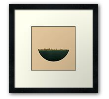 Skyless Composition 2 | Two Framed Print
