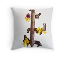 Ikebana-114 Throw Pillow