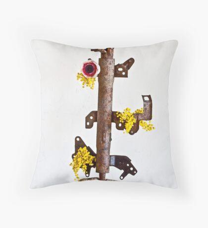 Ikebana-114 Throw Pillow