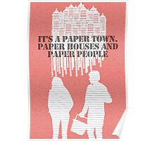 It's a Paper Town Poster