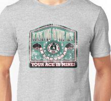 kicking aces in vegas Unisex T-Shirt