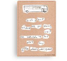 Bus, Bus Canvas Print
