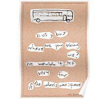 Bus, Bus Poster