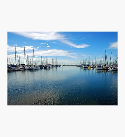 Safe Harbour Photographic Print