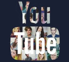 Youtubers Youtube Logo Kids Clothes