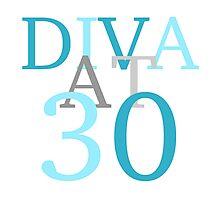 Diva At 30 Photographic Print