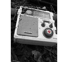 old music box Photographic Print