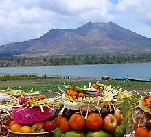 Gunung Batur by Sue Cotton