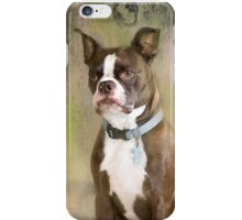Portrait of a Gentleman iPhone Case/Skin