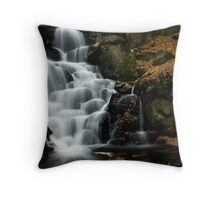 Virginia Waters cascades IV Throw Pillow