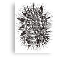 Human Mechanatomy Canvas Print
