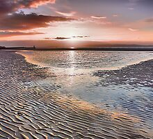 Salmon Sky by Rob Outram
