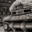 The Old Ford by Andreas Mueller