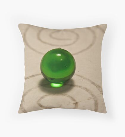 Rolling in time whirlpools Throw Pillow