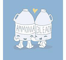 The Cutest Couple: Ammonia & Bleach Photographic Print