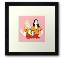 Max & Caroline Framed Print