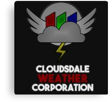 Cloudsdale Weather Corporation Canvas Print