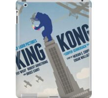 King Kong 1933 alternative movie poster iPad Case/Skin