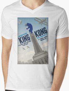 King Kong 1933 alternative movie poster Mens V-Neck T-Shirt